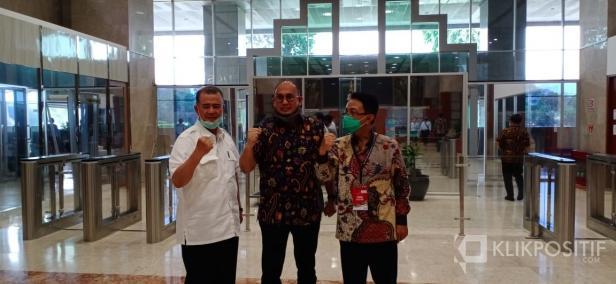 Dari Kiri ke Kanan, Nasrul Abit, Andre Rosiade dan Indra Catri