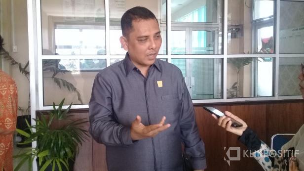 Ketua Komisi satu DPRD Kota Padang, Budi Syahrial