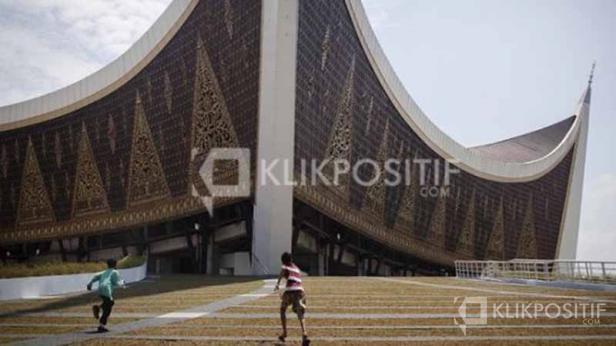 Masjid Raya Sumbar sebagai salah satu lokasi pelaksanaan MTQ Nasional di Sumbar