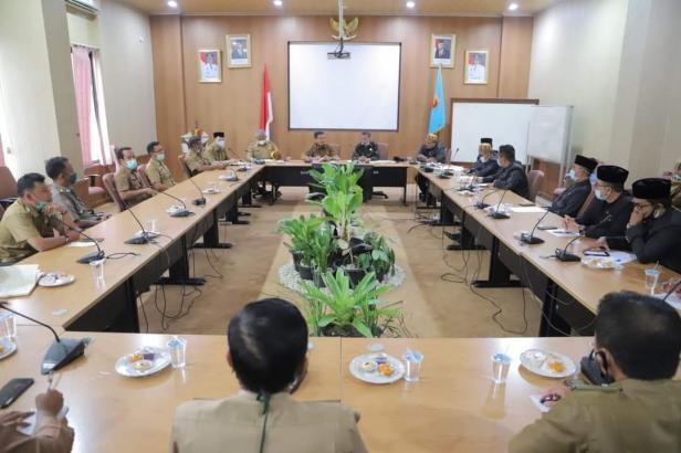 Sharing Informasi DPRK Aceh Utara dan Pemko Solok