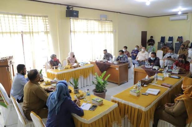 Sharing Informasi Dinas Sosial Kota Solok dengan DPRD Jambi
