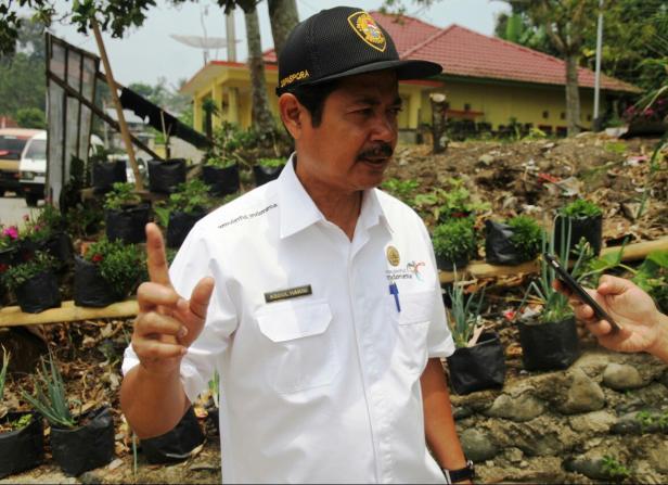 Kepala Dinas Parpora Tanah Datar Abdul Hakim