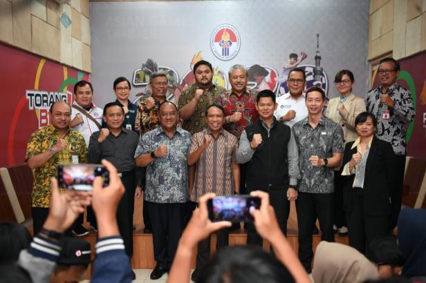 Foto bersama Menteri Olahraga