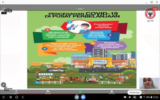 PT Semen Padang pada Minggu (29/11/2020) kembali menggelar webinar dengan tema