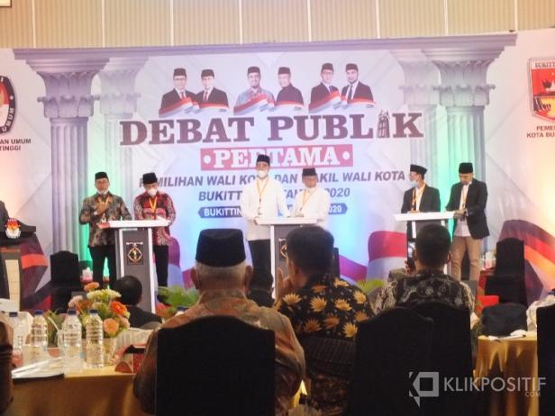 Suasan Debat Pilkada