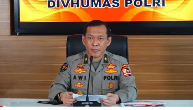 Karo Penmas Divisi Humas Polri Brigjen Pol Awi Setiono