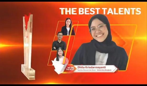 Dhita Krisdarmayanti Menjadi Terbaik Di Sumatera Raih 3rd Best of the Best Talent  Di Ajang IndonesiaNEXT Season 5