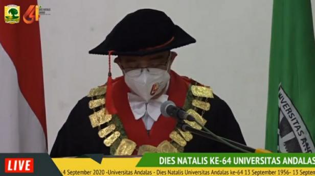 Rektor Unand Prof. Yuliandri