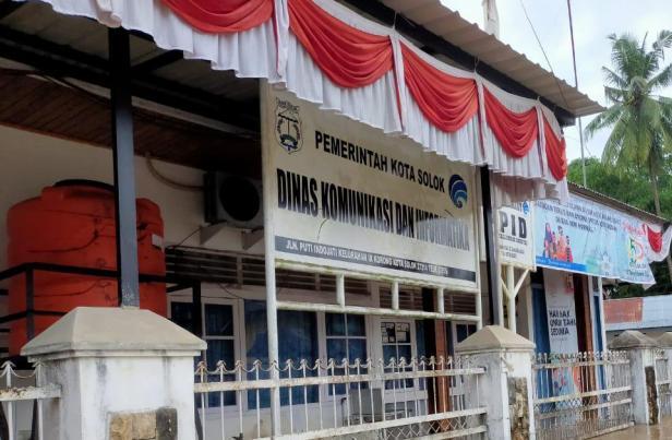Kantor Dinas Kominfo Kota Solok