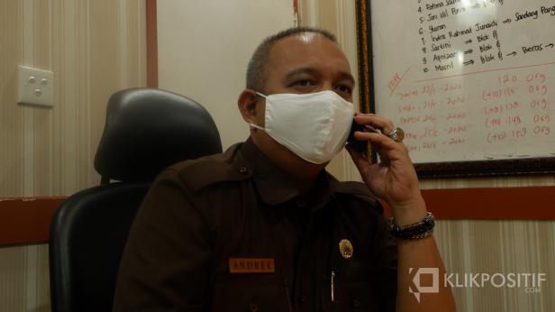 Kepala Dinas Perdagangan Kota Padang, Andre Algamar