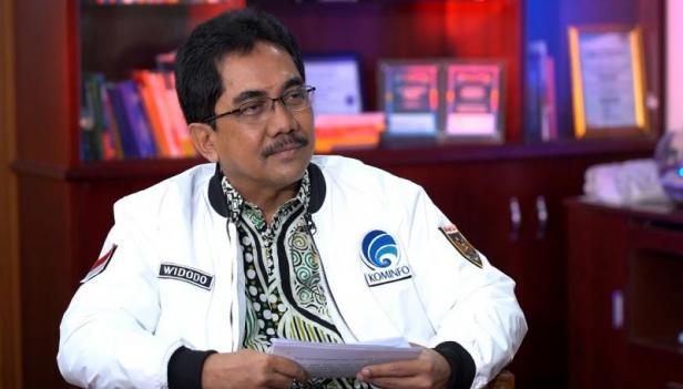 Direktur Jenderal Informasi dan Komunikasi Publik Kementerian Komunikasi dan Informatika, Widodo Muktiyo