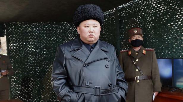 Pimpinan Korea Utara Kim Jong Un