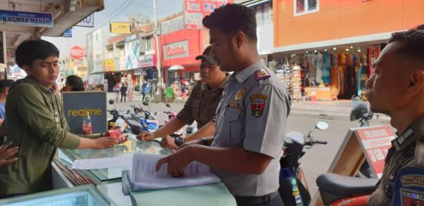 Dishub Mengeluarkan Surat Edaran ke Pemilik Toko di Jalan Minangkabau