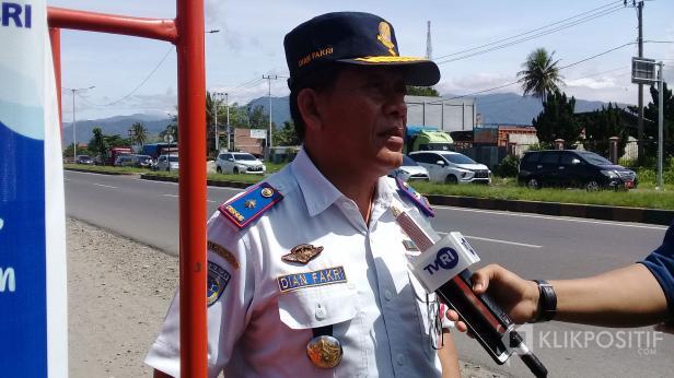 Kepala Dinas Perhubungan Kota Padang Dian Fakhri