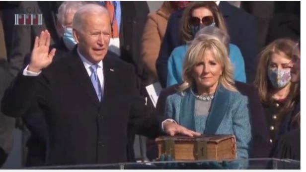 Pelantikan Presiden AS Joe Biden