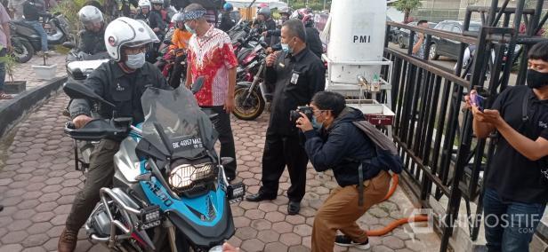 Ridwan Kamil saat berkunjung ke Kota Payakumbuh.