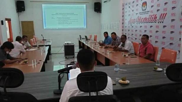 Persiapan KPU Pessel dalam pematangan debat putaran kedua Pilkada 2020