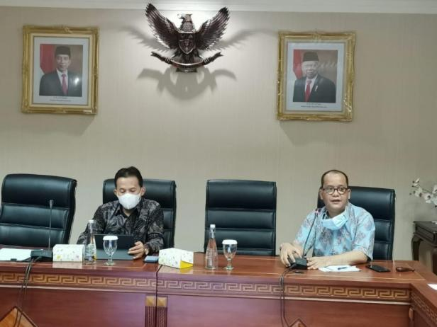 Rapat konsolidasi Ditjen PHU di Jakarta