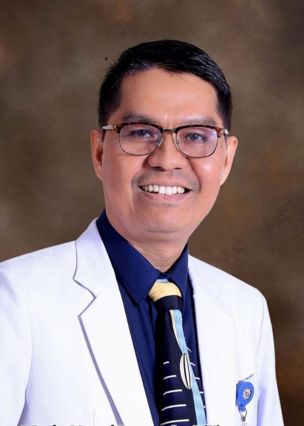 Dokter Spesialis Paru di Semen Padang Hospital (SPH), Dr.dr. Masrul Basyar , Sp.P (K) FISR