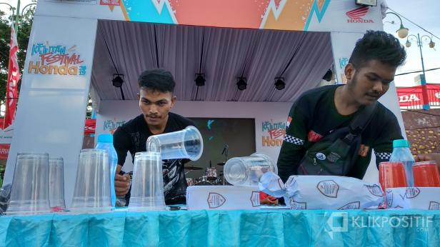 Keseruan Kejutan Festival Honda 2019 di Pariaman
