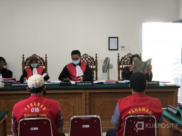 Sidang Perkara Pembunuhan di Teluk Bayur yang Digelar Pengadilan Negeri Kelas I A