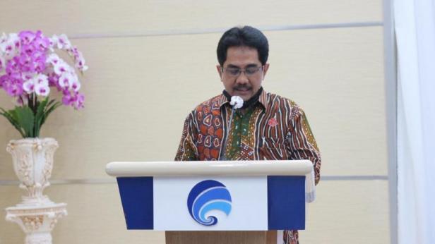 Direktur Jenderal Informasi Komunikasi Publik (IKP) Kementerian Komunikasi dan Informatika (Kominfo) Widodo Muktiyo