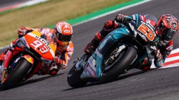 Pemuncak klasemen MotoGP Fabio Quartararo