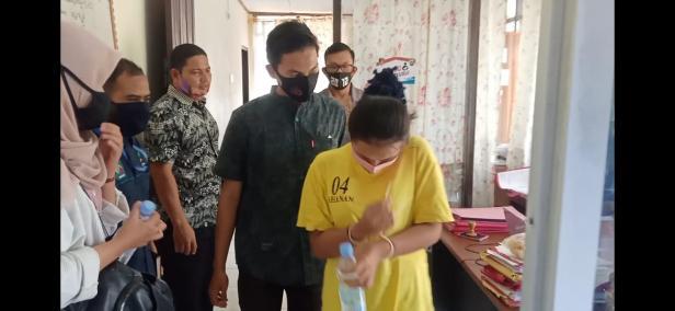 Vv pelaku pelecehan bayi di Pariaman