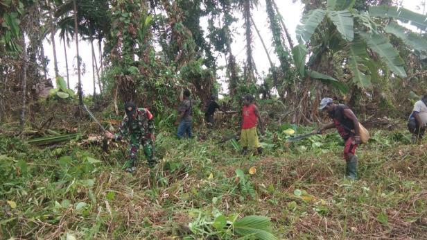 Fasilitas Baru Warga Kampung Dorba Mulai Dikerjakan