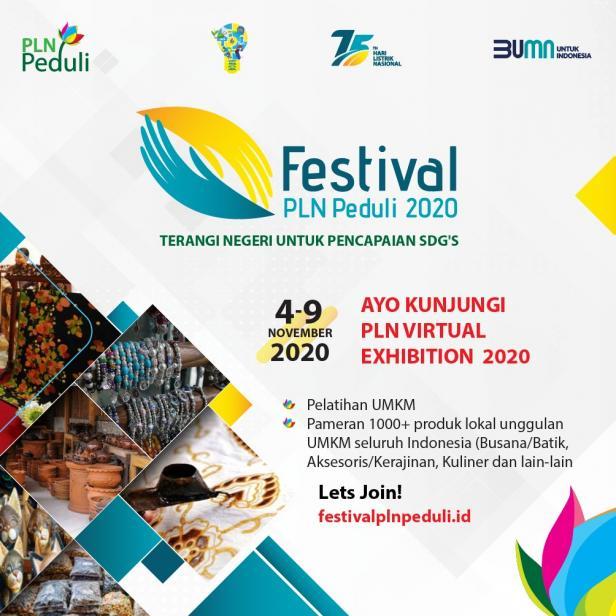 Poster Festival PLN Peduli