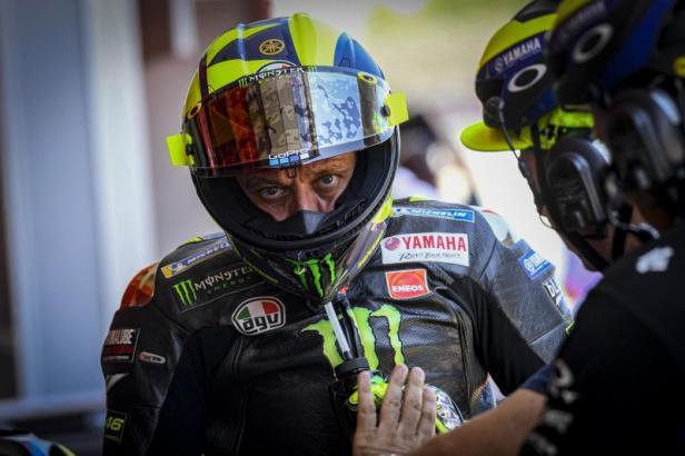 Gagal Finis Di Jerez Ini Pengakuan Rossi Klikpositif Com Media Generasi Positif