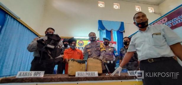 Press Release Tangkapan Ganja 11 Kilogram