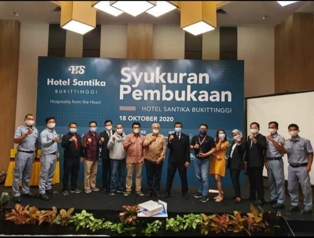 Santika Hotel Bukittinggi lakukan Grand Launching, Minggu (18/10)