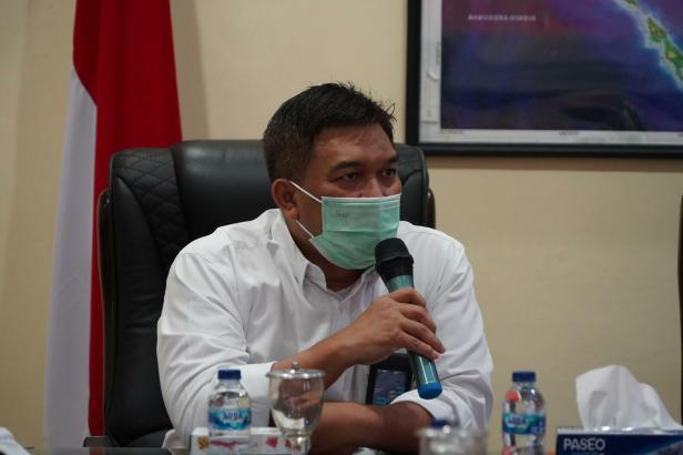 General Manager PLN Unit Induk Wilayah (UIW) Sumbar, Toni Wahyu