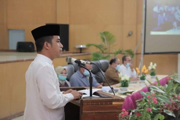 Wawako Solok, Dr. Ramadhani Kirana Putra membuka Musrenbang RPJMD 2021-2026