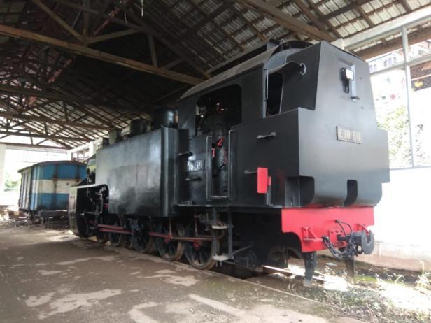 Kereta api Mak Itam di Kota Sawahlunto