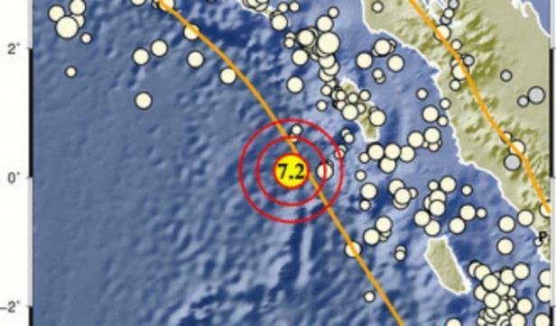Info sumber gempa bumi