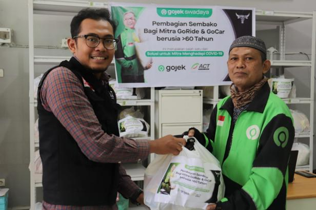 ACT berikan bantuan pada Driver Gojek
