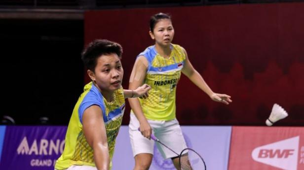 Ganda putri Indonesia Greysia Polii / Apriyani Rahayu meraih gelar juara turnamen Yonex Thailand Open 2021