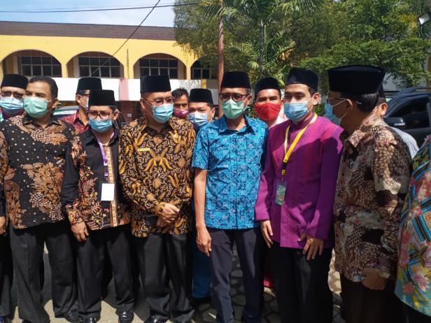 Gubernur Semangati Kafilah Berjuang Harumkan Nama Sumatera ...