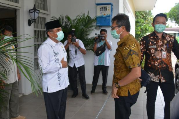Gubernur Sumbar Irwan Prayitno saat di Agam