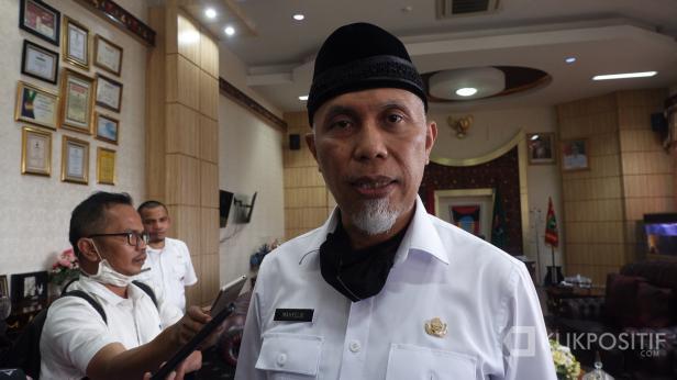 Gubernur Sumatera Barat, Mahyeldi Ansyarullah (dokumentasi klikpositif.com)
