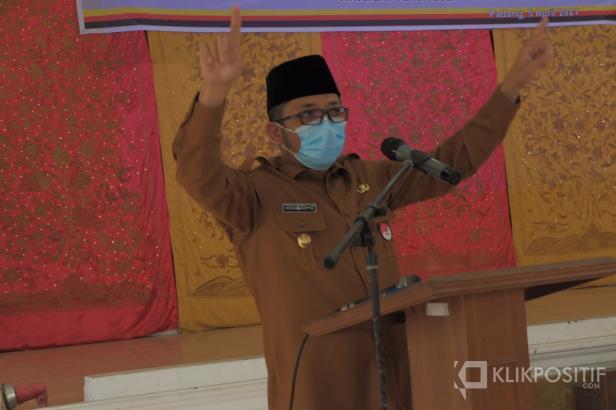 Wali Kota Padang, Hendri Septa (dokumentasi klikpositif)