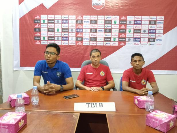 Konferensi Pers Semen Padang FC di Kantor Asprov PSSI Riau