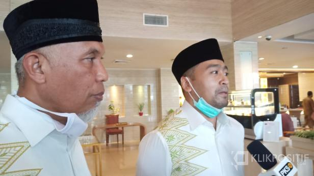 Bakal Pasangan Calon Gubernur dan Wakil Gubernur Sumbar, Mahyeldi dan Audy Joinaldy