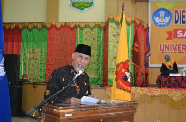 Gubernur Sumatra Barat, Mahyeldi Ansyarullah menyatakan dukungannya untuk menjadikan UMMY Solok sebagai PTN