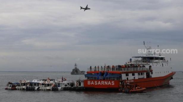 Pencarian korban Sriwijaya Air SJ 182