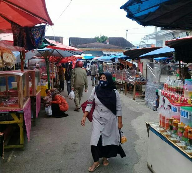 Pedagang Pasar Batusangkar