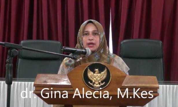 Juru bicara Satgas COVID-19 Dinas Kesehatan Pasaman Barat, dr Gina Alecia