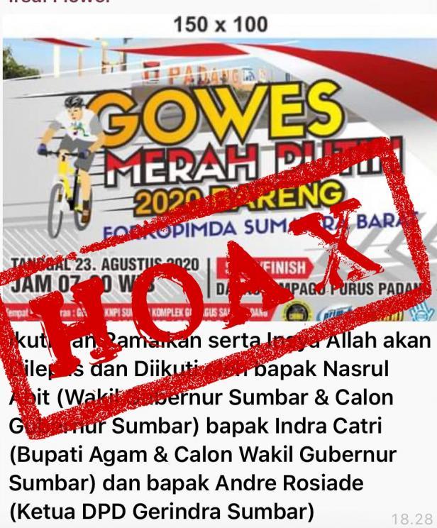 Poster hoax yang beredar